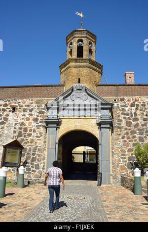 Castle of Good Hope (Kasteel Würfel Goeie Hoop), Buitenkant Street, Kapstadt, Westkap, Südafrika - Stockfoto