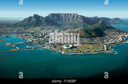 Hafen von Kapstadt, Kapstadt. - Stockfoto