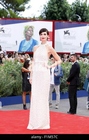 Venedig, Ca, Italien. 2. Sep, 2015. Paz Vega.Opening Nacht und Everest premiere.72nd Venedig Film Festival.Venice, - Stockfoto