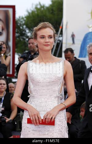 Venedig, Ca, Italien. 2. Sep, 2015. Diane Kruger.Opening Night und Everest premiere.72nd Venedig Film Festival.Venice, - Stockfoto