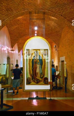 Gemälde der Jungfrau DE Guadalupe in der kulturellen MUSEUM von OAXACA oder Museo de Las Culturas de Oaxaca - Mexiko - Stockfoto