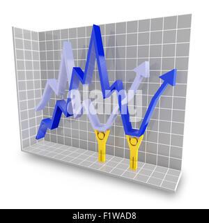 Speichern der Wirtschaft-Konzept - Stockfoto