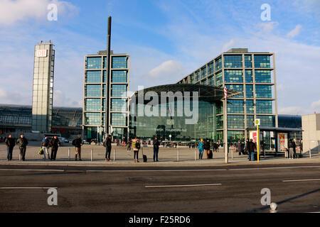 Berliner Hauptbahnhof, Berlin. - Stockfoto