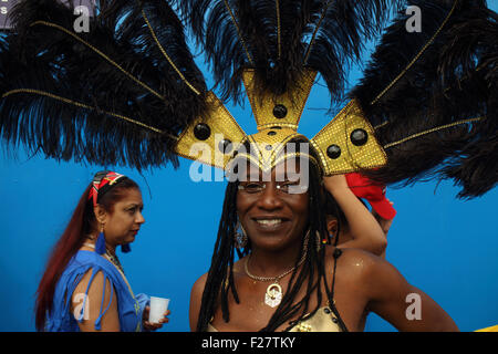 Hackney, London, UK. 13. Sep, 2015. Hackney ein Karneval 2015 Credit: Emin Ozkan/Alamy Live News - Stockfoto