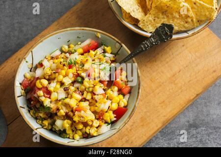 Mais-salsa - Stockfoto