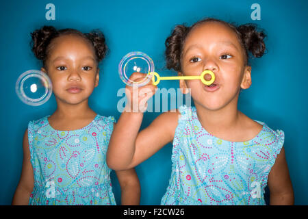Aus einem zwillingsmädchen