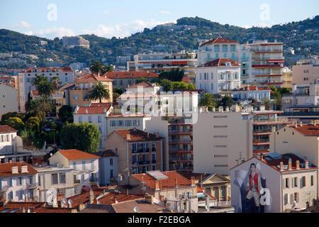 Impressionen: Skyline, Cannes, Côte d ' Azur, Frankreich / Cannes, Côte d ' Azur, Frankreich. - Stockfoto