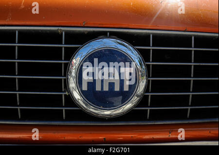 Automobile Fiat-Automóvil Fiat - Stockfoto