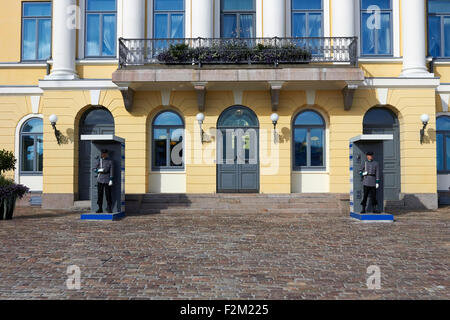 Der Präsidentenpalast, Helsinki Finnland - Stockfoto
