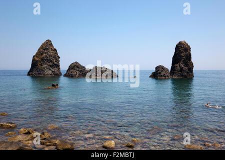 Aci Trezza, Sizilien, Italien - Stockfoto