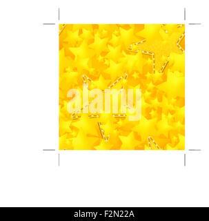 Sternen Muster nahtlos - Stockfoto