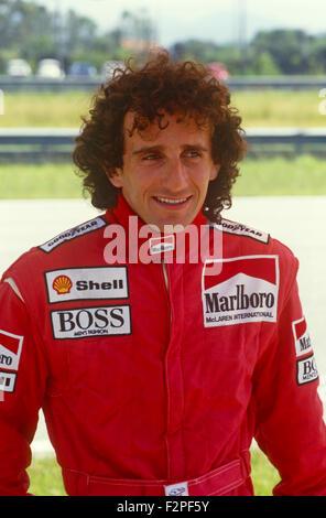 Rennfahrer Prost