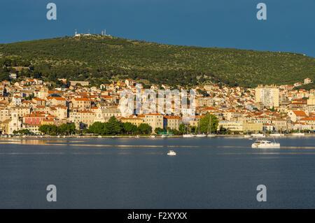 Šibenik eine alte Stadt in der Mitte Dalmacia, Adria, Kroatien - Stockfoto