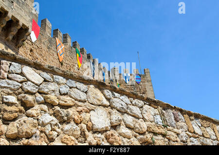 Capdepera Burg mallorca - Stockfoto