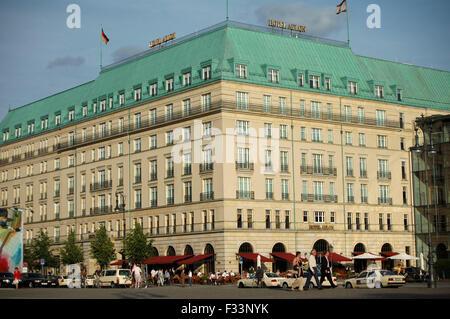 Hotel Adlon, Pariser Platz, Berlin-Mitte. - Stockfoto