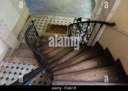 Treppe, Paris, Frankreich - Stockfoto
