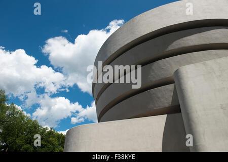 Soloman R Guggenheim Museum, New York - Stockfoto