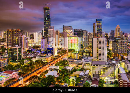 Skyline von Bangkok, Thailand. - Stockfoto