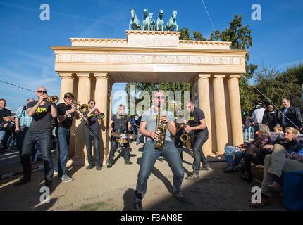 Frankfurt Am Main Deutschland 3 Oktober 2015 Die Band Beatn