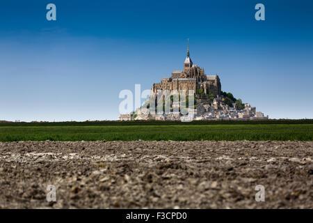 Le Mont-Saint-Michel Saint Michael Mount Benedictine Abtei untere Normandie Manche Frankreich Europa