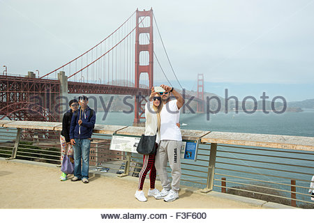 Golden Gate Bridge, San Francisco, Callifornia - Stockfoto