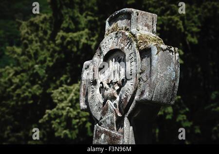 Grabstein der Logie Kirk in Stirling, Schottland - Stockfoto