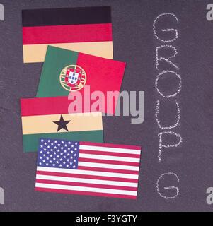 WM 2014 - Stockfoto
