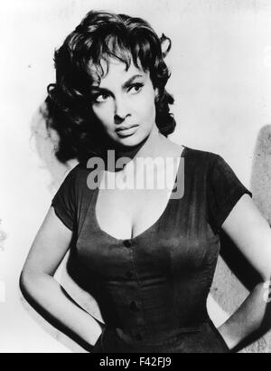 gina lollobrigida italienische schauspielerin ca 1958 stockfoto bild 88566651 alamy. Black Bedroom Furniture Sets. Home Design Ideas