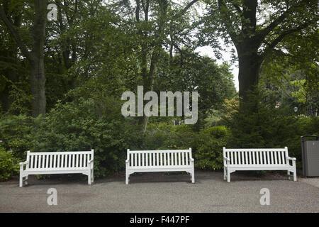 Schlossgarten hinter Palast Noordeinde, den Haag, Niederlande. - Stockfoto