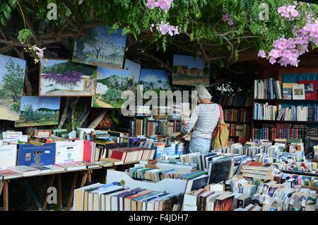 Las Dalias, Hippie-Markt in San Carlos auf Ibiza - Stockfoto