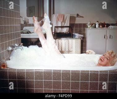 Marilyn Monroe / The sieben Jahr Jucken 1954 unter der Regie von Billy Wilder - Stockfoto