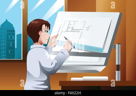 Cartoon vektor bauzeichnung skizze abbildung united states new york freiheitsstatue vektor - Buro 13 architekten ...