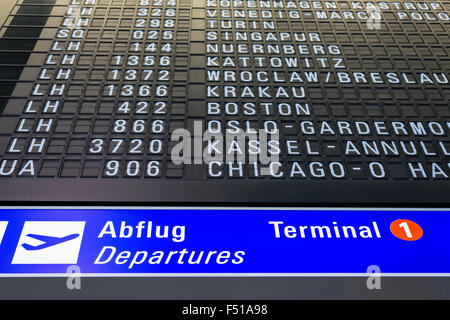 Frankfurt Flugplan Ankunft