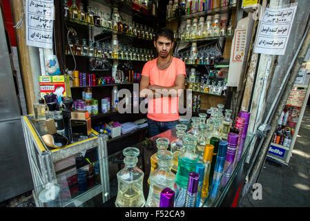Parfüm Lieferanten, Teheran, Iran - Stockfoto