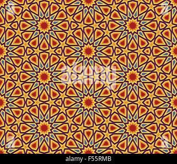 Abstrakten geometrischen farbigen nahtlose Hintergrund, Tapetendesign - Stockfoto