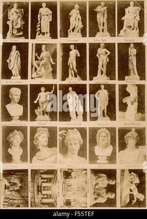 Vatikanische Museen: Werbebilder - Stockfoto