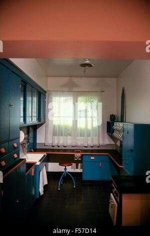 1960er jahren beginnt stil amerikanischer k che zu hause vor umbau stockfoto bild 36687045 alamy. Black Bedroom Furniture Sets. Home Design Ideas