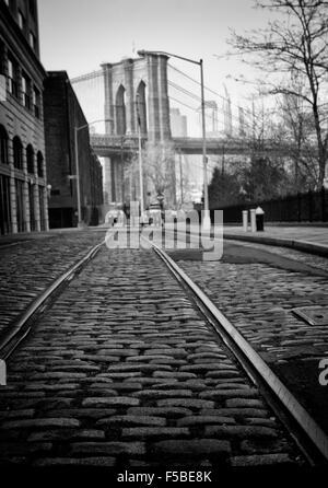 Brooklyn-Tracks - Stockfoto