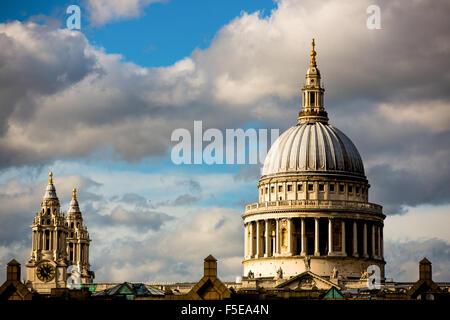 St. Pauls Cathedral, London, England, Vereinigtes Königreich, Europa - Stockfoto