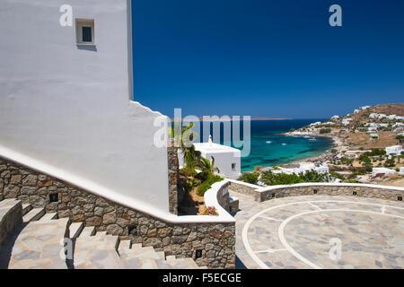 Mykonos Stadt, Mykonos, Kykladen, griechische Inseln, Griechenland, Europa - Stockfoto