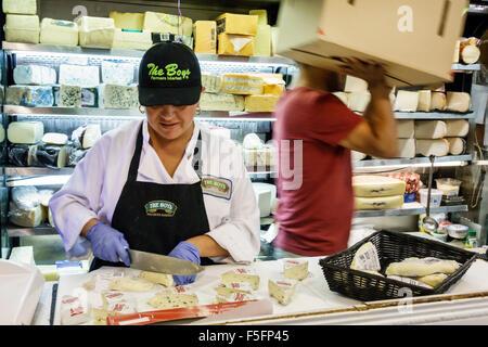 Florida Delray Beach The Boys Farmers Market Lebensmittelgeschäft Supermarkt Lebensmittel Verkauf Anzeigen Hispanic - Stockfoto