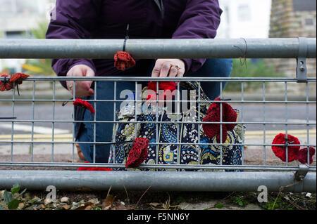 Erinnerung zu Fuß Folkestone - Stockfoto