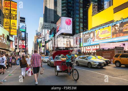 Times Square, Midtown Manhattan, New York, USA - Stockfoto