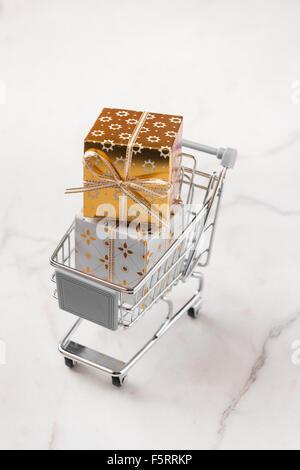 Weihnachts-shopping-Konzept - Stockfoto