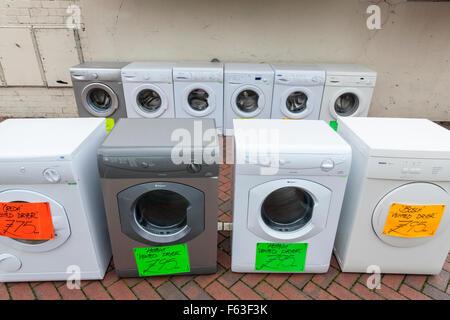 Alte waschmaschinen und second hand wäschetrockner trockner für