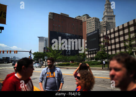 Cleveland, Ohio, USA. 8. Juni 2015. Cleveland, Ohio 9. Juni 2015 ...