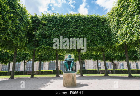 Statue im Jardin des Tuileries, Paris, Ile de France, Frankreich - Stockfoto