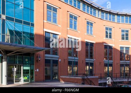 Das Grundbuchamt Büros, Nottingham, England, UK - Stockfoto