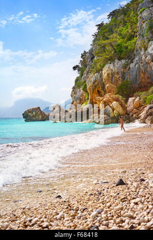 Insel Sardinien - Gennargentu und Orosei Golf National Park, Sardinien, Italien - Stockfoto