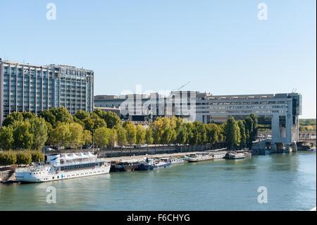 Frankreich, Paris, Ministère de l'Économie et des Finances - Stockfoto